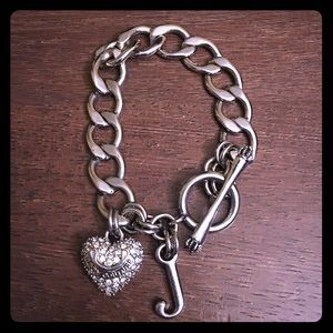 Juicy Couture Heart Toggle Bracelet